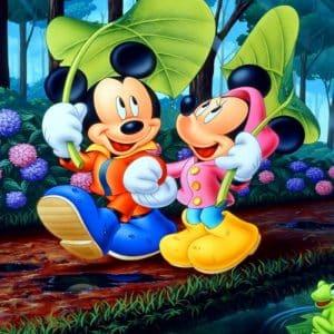 Imágenes de amor de Mickey y Minnie
