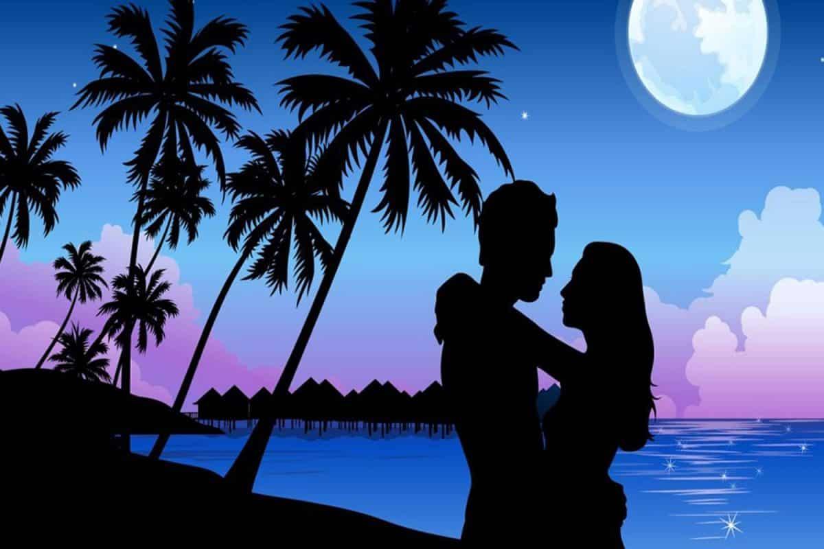 Amor en la playa