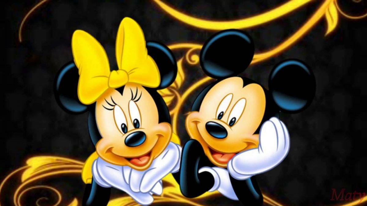 Imágen de amor de Minnie y Mickey