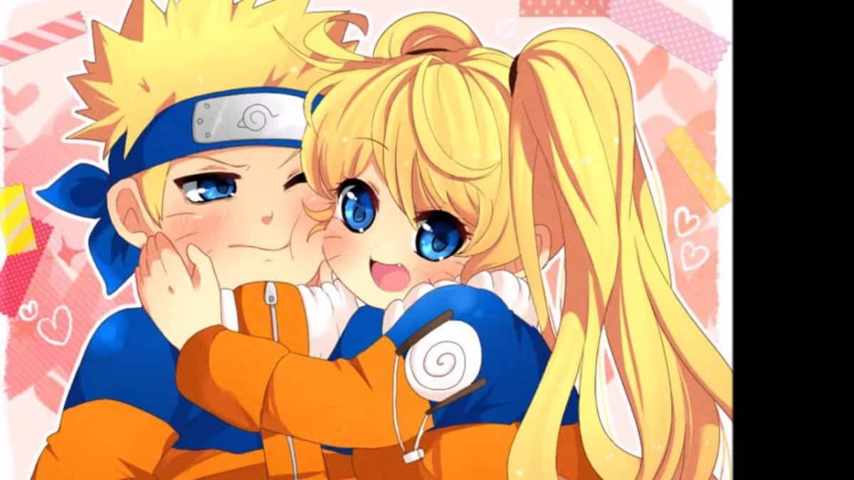 imagenes de amor anime naruto y saory uzumaki
