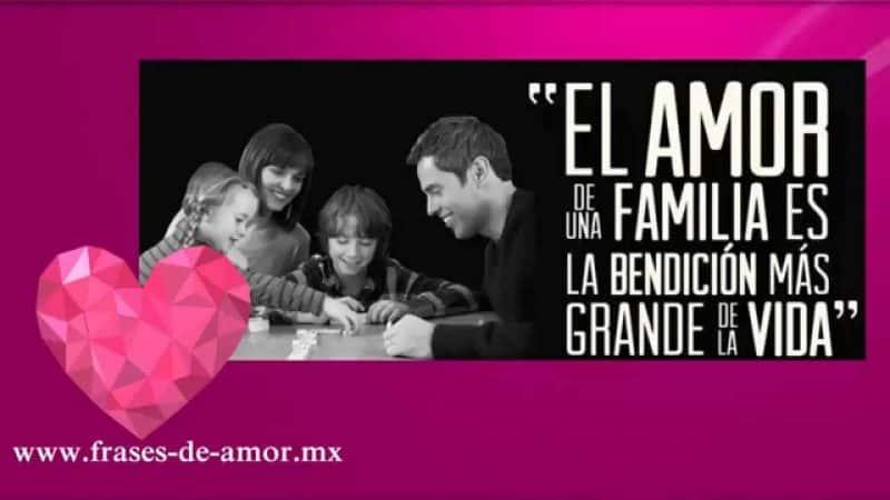 imagenes con mensajes de amor a la familia