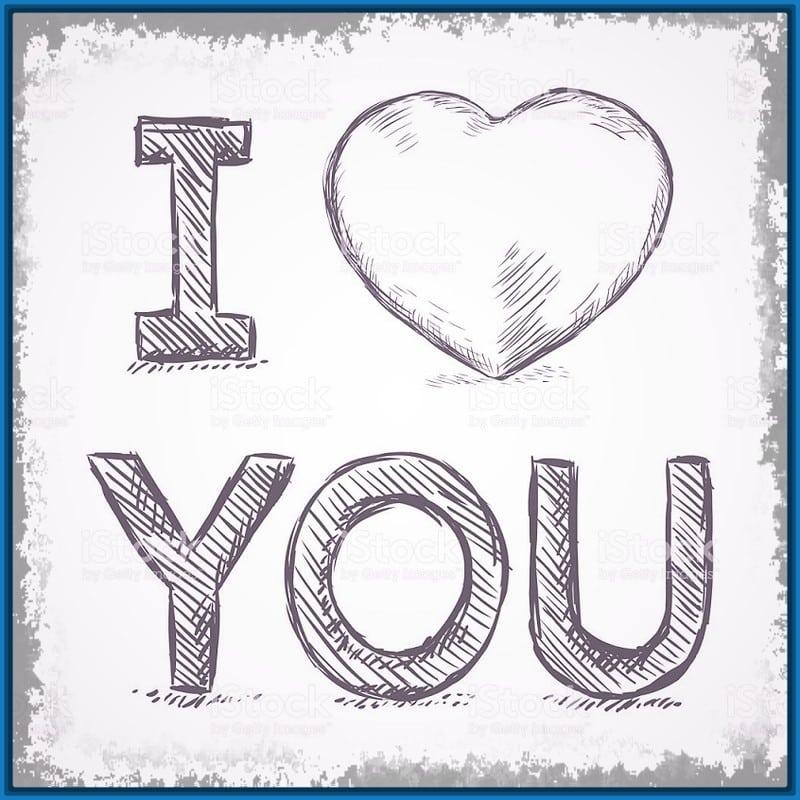 Imagenes De Amor Para Dibujar 30 Dibujos De Amor