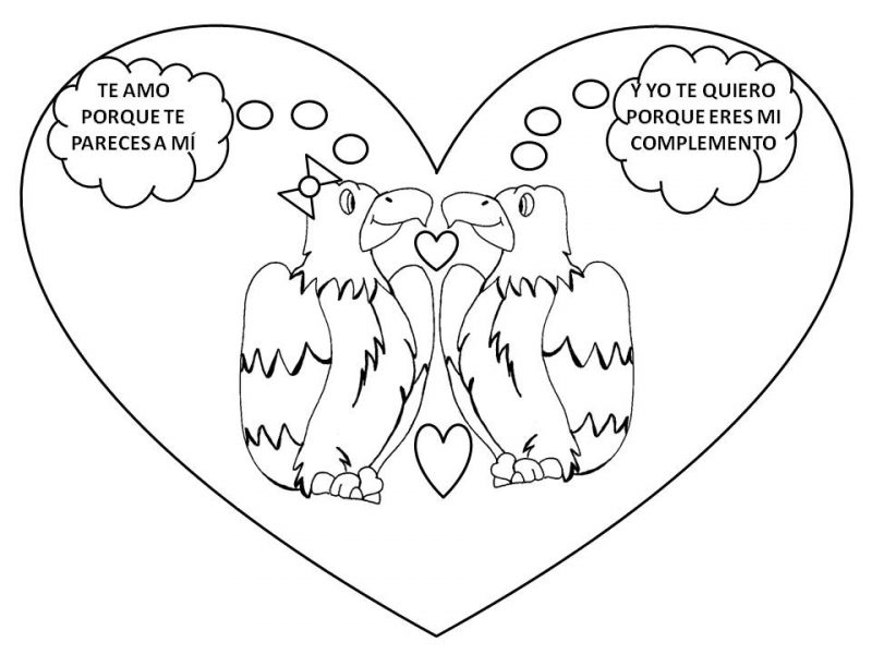 Increíble Te Amo Para Imprimir Para Colorear Bosquejo - Dibujos Para ...